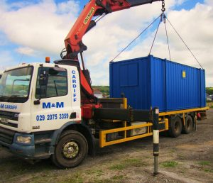 HiAb 20' welfare-amenity container 28-06-2016